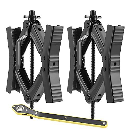 EPOARTIST Camper Wheel Chock Stabilizer Scissor 2 Sets for RV...