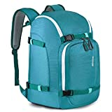RESVIN Ski Boot Bag, 50L Durable Travel Backpack, 1680D Nylon Waterproof Snowboard Boot Bag, Skiing and Snowboarding Travel Luggage for Helmet, Goggles, Gloves, Outerwear & Accessories, Green