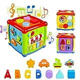 AiTuiTui Cube d'Activités pour Bébé, Centre d'activités Multifonctions 6 en...