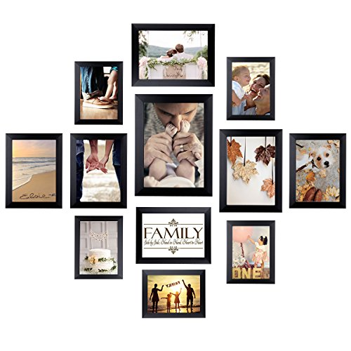 Homemaxs 12 Pack Picture Frames Collage Photo Frames Wall Gallery...