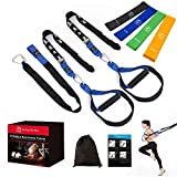 FITINDEX Resistance Training Straps 15Pcs, Fitness Resistance Trainer Kit for Full Body Workout,...