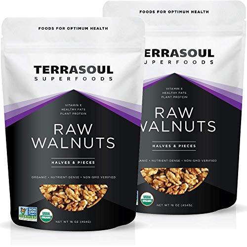 Terrasoul Superfoods Organic Raw Walnuts