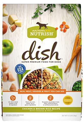 Rachael Ray Nutrish Dish Premium Dry Dog Food,...