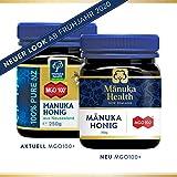 Manuka Health - MGO 100+ Manuka Honey, 100% Pure New Zealand Honey, 8.8 Ounce