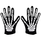 Kangaroo Halloween Accessories - Skeleton Gloves