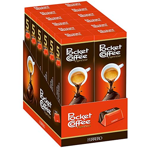 Pocket Coffee Ferrero 12-5 Piece Packs (60 Piece Case)