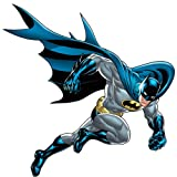 RoomMates Batman Bold Justice Peel and Stick Giant Wall Decal,blue - RMK1864GM