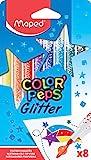 Maped Color'Peps Feutres de Coloriage Glitter Encre à Paillettes pour...