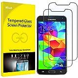 JETech Film de Protection d'écran pour Samsung Galaxy S5 en Verre Trempé,...