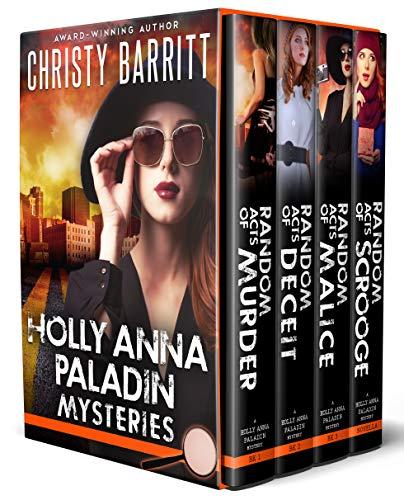 Holly Anna Paladin Mysteries Book Bundle, Books 1-3: Plus a Bonus Christmas Novella!