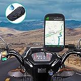 WACCET [Nouvelle génération] Support Telephone Moto Imperméable Support Smartphone Moto Etanche...