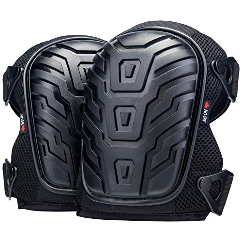 NoCry Professional Knee Pads with Heavy Duty Foam Padding and Comfortable...