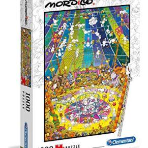 Clementoni- Puzzle 1000 Piezas Mordillo : The Show (39536.1)