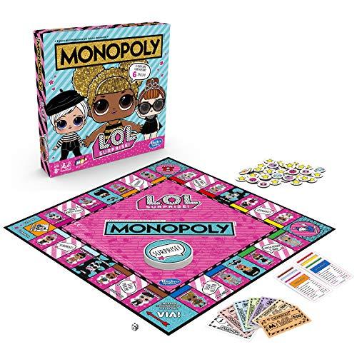 Image 2 - Hasbro Monopoly – Jeu Monopoly L.O.L, multicolore, E7572103, version italienne