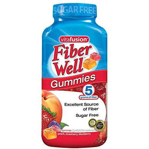 "Vitafusion Fiber Gummies, 220Count""Sugar Free"" (Pack of 2) 1"