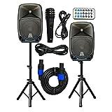2x Ignite Pro 10' Pro Series Speaker DJ/PA System/Bluetooth Connectivity...