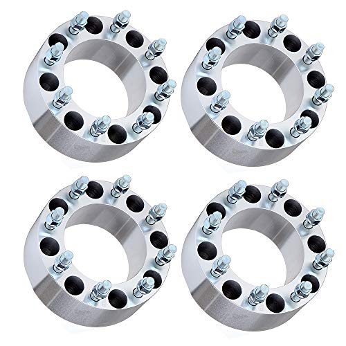 ECCPP 4X 3 inch 8 Lug Wheel Adapters Spacers 8x170mm to 8x170mm fits for F-ord F350 F250 Super Duty 2004-2014 with 14x1.5 Studs