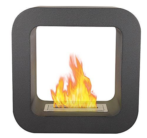 Tecno Air System MAROSTICA Bioethanol Fireplace, Black