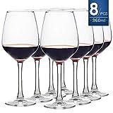 ensemble de 8 verres à vin rouge et à vin blanc, 450ml,...