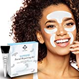 Facial Wrinkle Removal Strips Kit by Matykos - Anti Wrinkle Patches for Face - Set of 50 Face Smoothing Tapes Combined with Pure Hyaluronic Acid - Lift Your Forehead, Under-Eyes, Next to Lip Areas