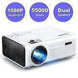 Vidéoprojecteur, Crosstour Mini Projecteur ,Portable Rétroprojecteur LED Full HD 1080P Supporté...