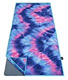 Ewedoos Yoga Towel with Anchor Fit Corners, 100% Microfiber Non Slip Yoga Towel, Super Soft, Sweat...