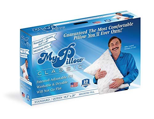 My Pillow Classic Series [Std/Queen,Medium Fill] Now Available in 4 Loft Levels