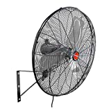 OEM TOOLS OEM24893 24 Inch High-Velocity Oscillating Wall Mount Fan, New Model Water-Resistance Rated for Outdoor Use for Patios 3-Speed Motor 6800 CFM, 24'
