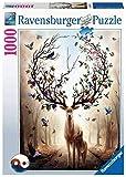 Ravensburger- Puzzle 1000 pièces-Cerf Fantastique Adulte, 4005556150182, Multicolore