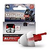 Alpine MotoSafe Race Bouchons d'oreilles protection auditive pour motocyclisme - Boules Quies pour...