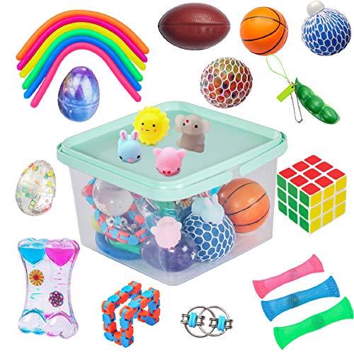 24 Pack Bundle Sensory Fidget Toys Set-Liquid Motion...