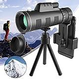 Topmeg Monocular Telescope, 40X60 HD Monocular Telescope Night Vision Waterproof Telescope Monocular...