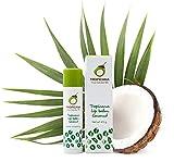 Tropicanil Cosmetik Beauty, 2 barras de labios de 4,5 g, aceite de coco, manteca de cacao y ...