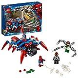 LEGO Super Heroes Spider-Man vs. Doc Ock, Sono Incluese 3 Fantastiche Minifigure di Spider-Man, Spider-Girl e Doc Ock e la moto di Spider-Man, per Bambini...