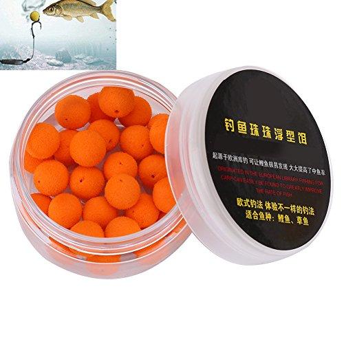 Vbestlife 30Pcs/Box Smell Soft Fishing Lure Soft Boilies Fishing Bait Boilies Floating Smell Ball...