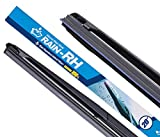 RAIN-RH Windshield Wiper, Water Repellent Wiper blade 100% Silicone Hybrid flame 20inch(Pack of 1)