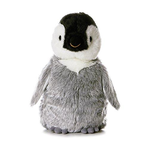 Aurora, 13232, Flopsies Penny Pinguin, 30cm, Plüschtier, Mehrfarbig, Grau, Schwarz/Weiß