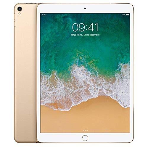 Ipad Pro Apple, Tela Retina 10,5, 512gb, Dourado, Wi-fi + Cellular - Mpmg2bz/a
