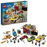 LEGO City Turbo Wheels, L'atelier de tuning, Set de construction avec...
