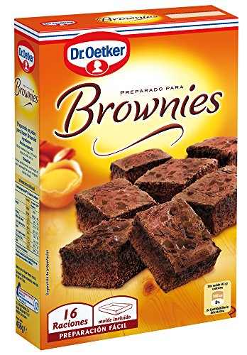 Dr. Oetker Preparado para Brownies, 456g