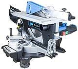 Güde 55254Table et Scie radiale tkgs 216, 1800W, 240V, bleu