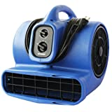 XPOWER X-800TF 3/4 HP Air Mover,...