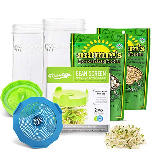 Masontops Complete Sprouting Kit