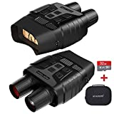 Night Vision Goggles, Digital Night Vision Binoculars with 2.31' TFT LCD, Infrared Night Vision can take HD Photo & 960p Video from 984 ft Viewing Range GTU2 Night Vision with 32 Memory Card