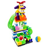 BananMelonBM Marble Run Toys Set, 98 PCS Animal Dog Marble Race Track Building Block for Kids, STEM...