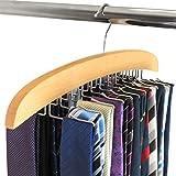 Hangerworld Wooden 24 Tie...