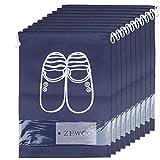 ZeWoo Lot de 10 Travel Sacs à Chaussures de Voyage, Sacs de Voyage Respirants Sacs Organisateurs,...