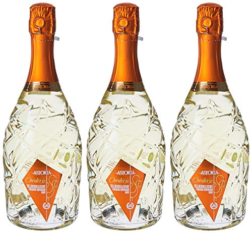 Astoria Valdobbiadene Prosecco Docg'Corderie'Spumante - 3 bottiglie da 750 ml