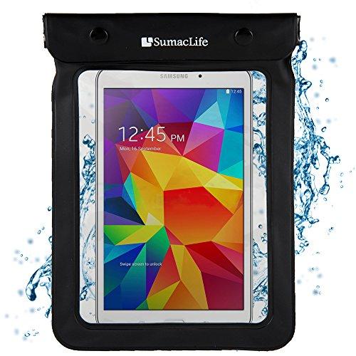 Waterproof Case for 6 - 8.4' Tablets / eReaders- Kindle Fire, iPad, Galaxy, Nexus, Venue, MeMO Pad, Iconia, IdeaTab, & Others