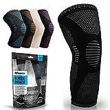 POWERLIX Knee Compression Sleeve - Best Knee Brace for Men & Women – Knee Support for Running,...